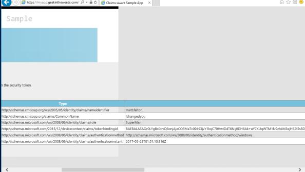 Active Directory Federation Services – SQL AttributeStore