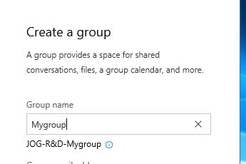 Office 365 Group Naming Policies – Part 2