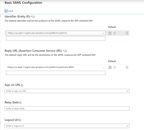 Confirming SAML